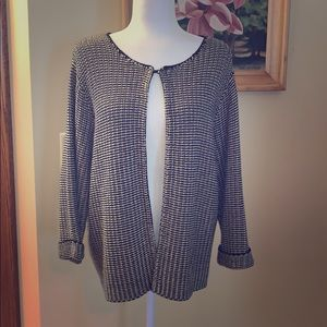 Chico's heavy open knit cardigan. Size 2